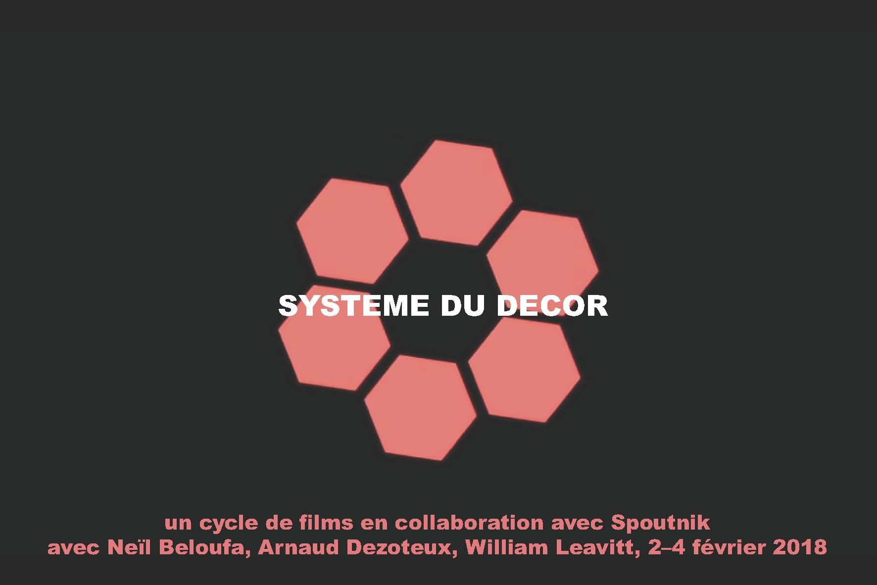 forde - flyer - Système du décor / Arnaud Dezoteux