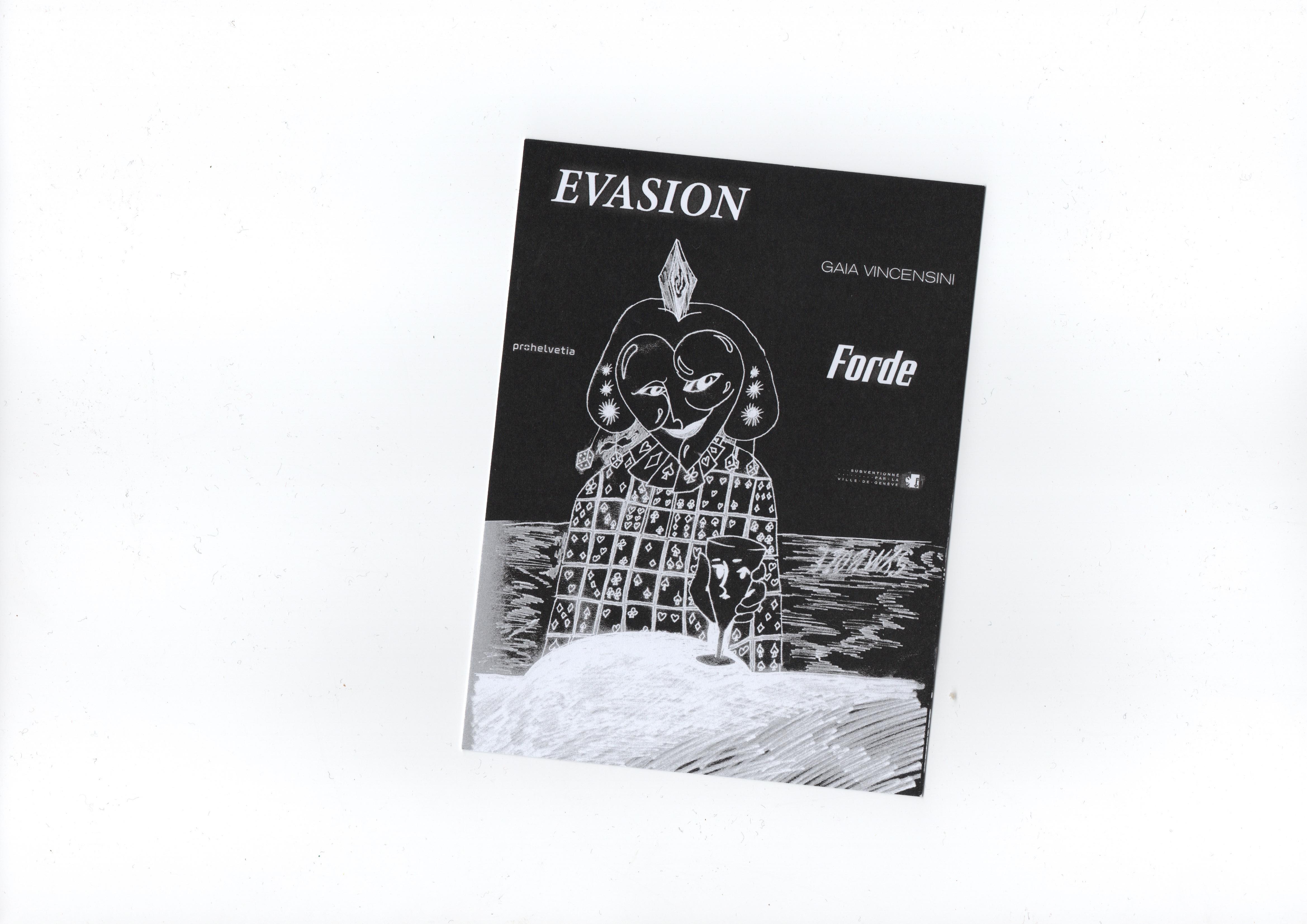 forde - flyer - Gaia Vincensini – Evasion